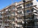 Balkon - Asbestzementplatten sind Demontiert worden