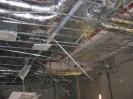 Demontage der Deckenkonstruktion