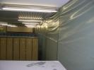 Ein - hausung für Asbest - Demontage ( Kellergeschoss ).