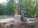 weitere Fundamente werden Freigelegt.