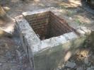 vorhandenen Stillgelegten Wasseranschlussschacht abgerissen